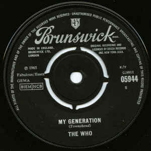 The Who - My Generation - Album Cover