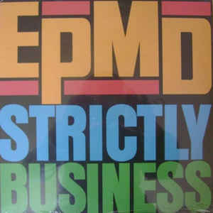 EPMD - Strictly Business - Album Cover