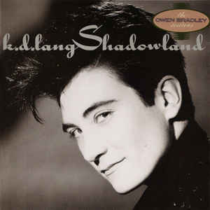k.d. lang - Shadowland - Album Cover