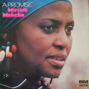 Miriam Makeba - A Promise - Album Cover