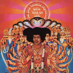 The Jimi Hendrix Experience - Axis: Bold As Love - Album Cover