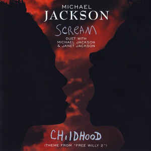 Michael Jackson - Scream - Album Cover