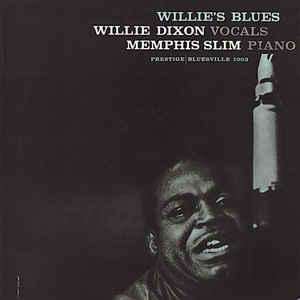 Willie's Blues - Album Cover - VinylWorld