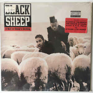 Black Sheep - A Wolf In Sheep's Clothing - Album Cover