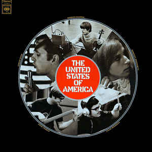 The United States Of America - The United States Of America - Album Cover