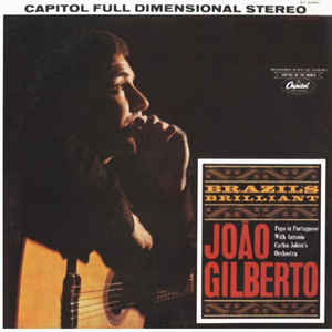 João Gilberto - Brazil's Brilliant - Album Cover