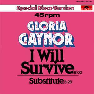 Gloria Gaynor - I Will Survive - VinylWorld