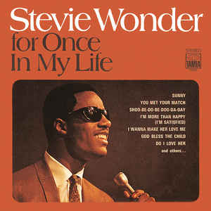 Stevie Wonder - For Once In My Life - Album Cover