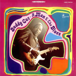 Buddy Guy - A Man And The Blues - Album Cover