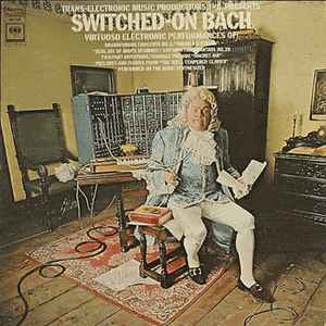 Walter Carlos - Switched-On Bach - Album Cover