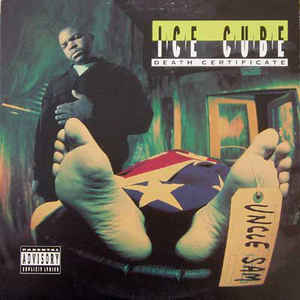 Ice Cube - Death Certificate - Album Cover