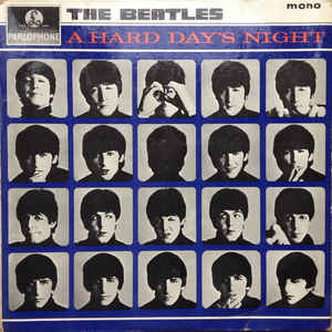 A Hard Day's Night - Album Cover - VinylWorld