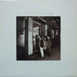 The Blue Nile - A Walk Across The Rooftops - Album Cover