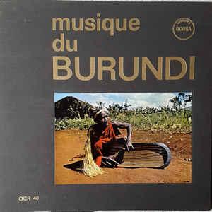Various - Musique Du Burundi - Album Cover