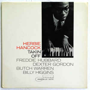 Herbie Hancock - Takin' Off - Album Cover