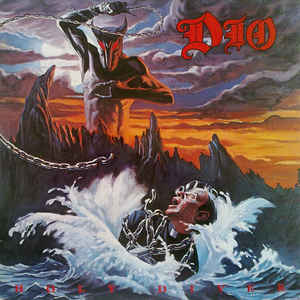 Dio (2) - Holy Diver - Album Cover