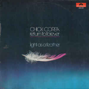 Chick Corea - Light As A Feather - Album Cover