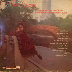 Nina Simone - Little Girl Blue - Album Cover