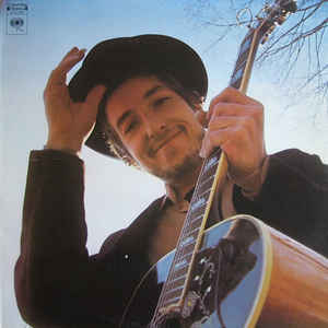 Bob Dylan - Nashville Skyline - Album Cover