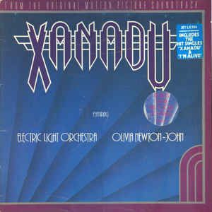Olivia Newton-John - Xanadu (From The Original Motion Picture Soundtrack) - Album Cover