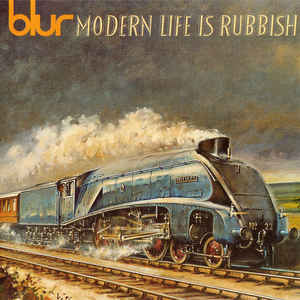Blur - Modern Life Is Rubbish - Album Cover