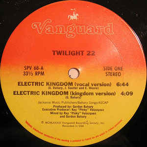 Twilight 22 - Electric Kingdom - Album Cover