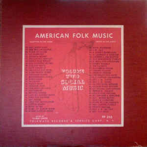 Anthology Of American Folk Music Volume Two: Social Music - Album Cover - VinylWorld