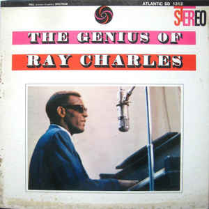 Ray Charles - The Genius Of Ray Charles - Album Cover
