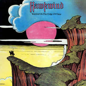 Hawkwind - Warrior On The Edge Of Time - Album Cover