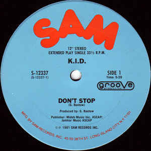 K.I.D. - Don't Stop - VinylWorld