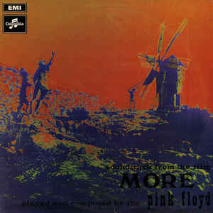 "Pink Floyd - Soundtrack From The Film ""More"" - Album Cover"