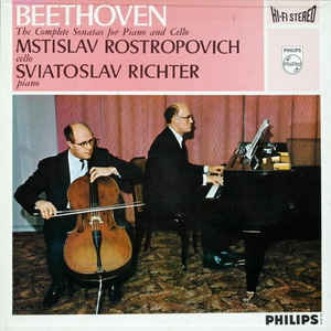 Ludwig van Beethoven - The Complete Sonatas For Piano And Cello - Album Cover