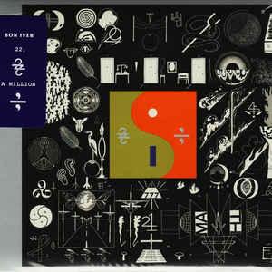 Bon Iver - 22, A Million - Album Cover
