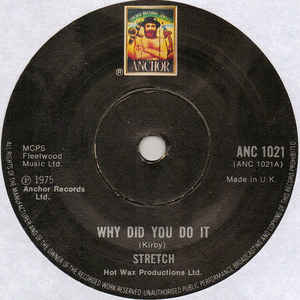 Stretch - Why Did You Do It - Album Cover