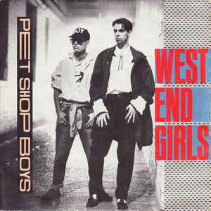 Pet Shop Boys - West End Girls - Album Cover