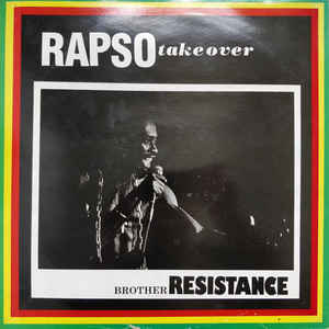 Brother Resistance - Rapso Take Over - Album Cover
