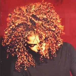 Janet Jackson - The Velvet Rope - Album Cover