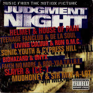 Various - Judgment Night (Music From The Motion Picture) - Album Cover