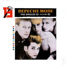 Depeche Mode - The Singles 81 → 85 - Album Cover