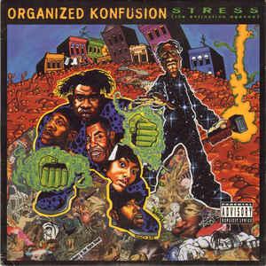 Organized Konfusion - Stress: The Extinction Agenda - Album Cover