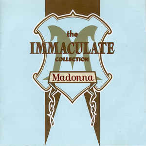 Madonna - The Immaculate Collection - Album Cover