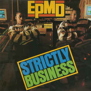 Strictly Business - Album Cover - VinylWorld