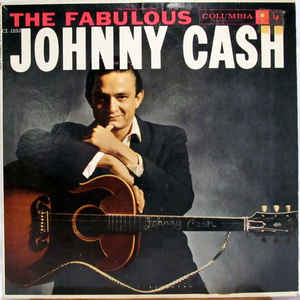 Johnny Cash - The Fabulous Johnny Cash - Album Cover