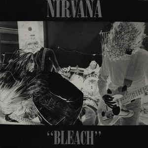 Nirvana - Bleach - Album Cover