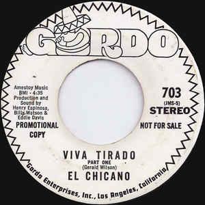 El Chicano - Viva Tirado - Album Cover
