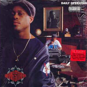 Gang Starr - Daily Operation - Album Cover