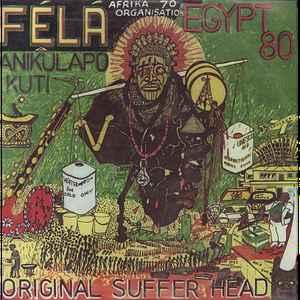 Fela Kuti - Original Suffer Head - Album Cover