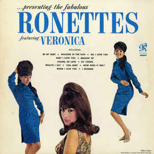 ...Presenting The Fabulous Ronettes Featuring Veronica - Album Cover - VinylWorld