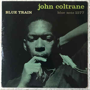 John Coltrane - Blue Train - Album Cover