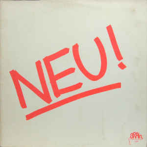Neu! - Neu! - Album Cover